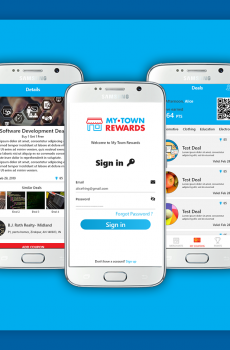 My Town Rewards App rewards and coupons app