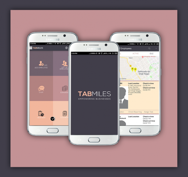 Tabmiles App Employee Tracking System
